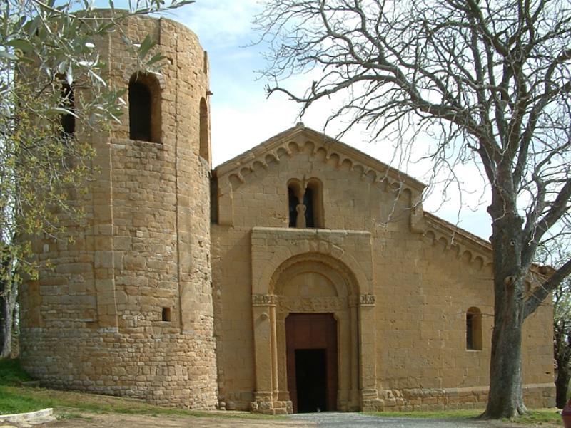 L'antica Pieve di Corsignano (Pienza)